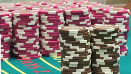 casino chips equivalent