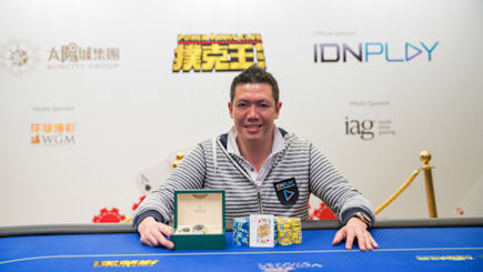 Wgm S Jadeson Ho Storms To Victory In Idn Play Charity Poker Tournament At The Venetian Macau
